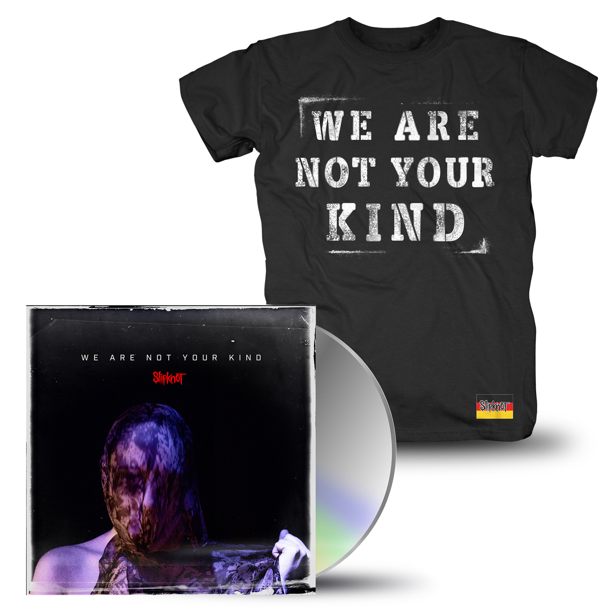 Bravado - We Are Not Your Kind (CD + T-Shirt Bundle) - Slipknot - CD