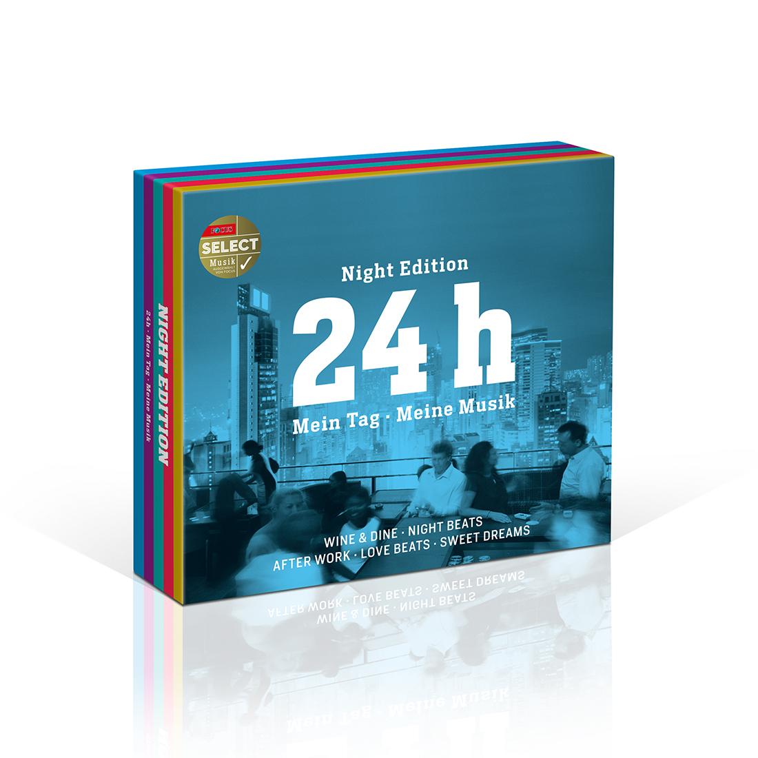 Focus Edition: 24h - NIGHT EDITION von Various Artists - 5-CD-Box jetzt im Bravado Shop