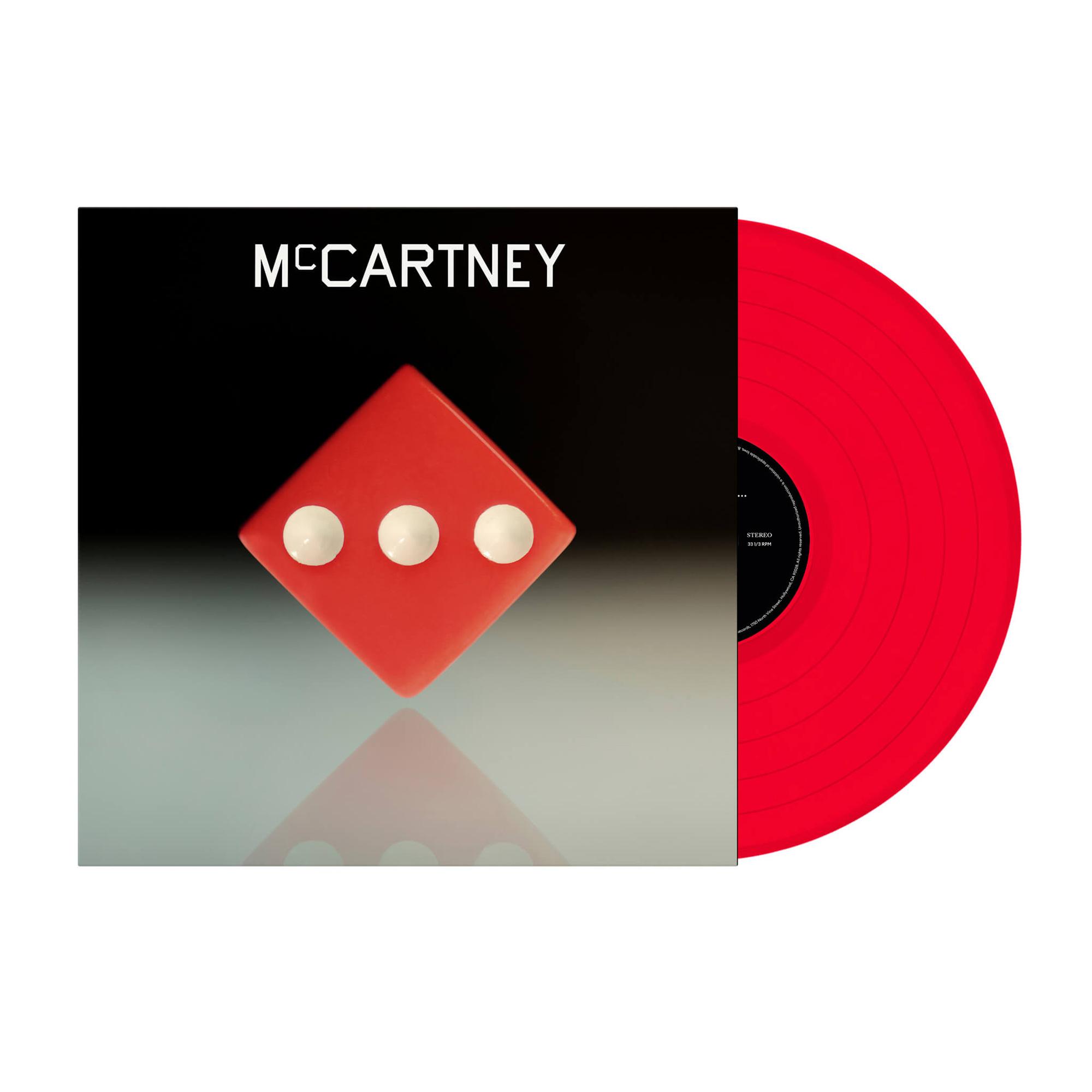 Bravado - III (Exclusive Red Vinyl) - Paul McCartney - LP