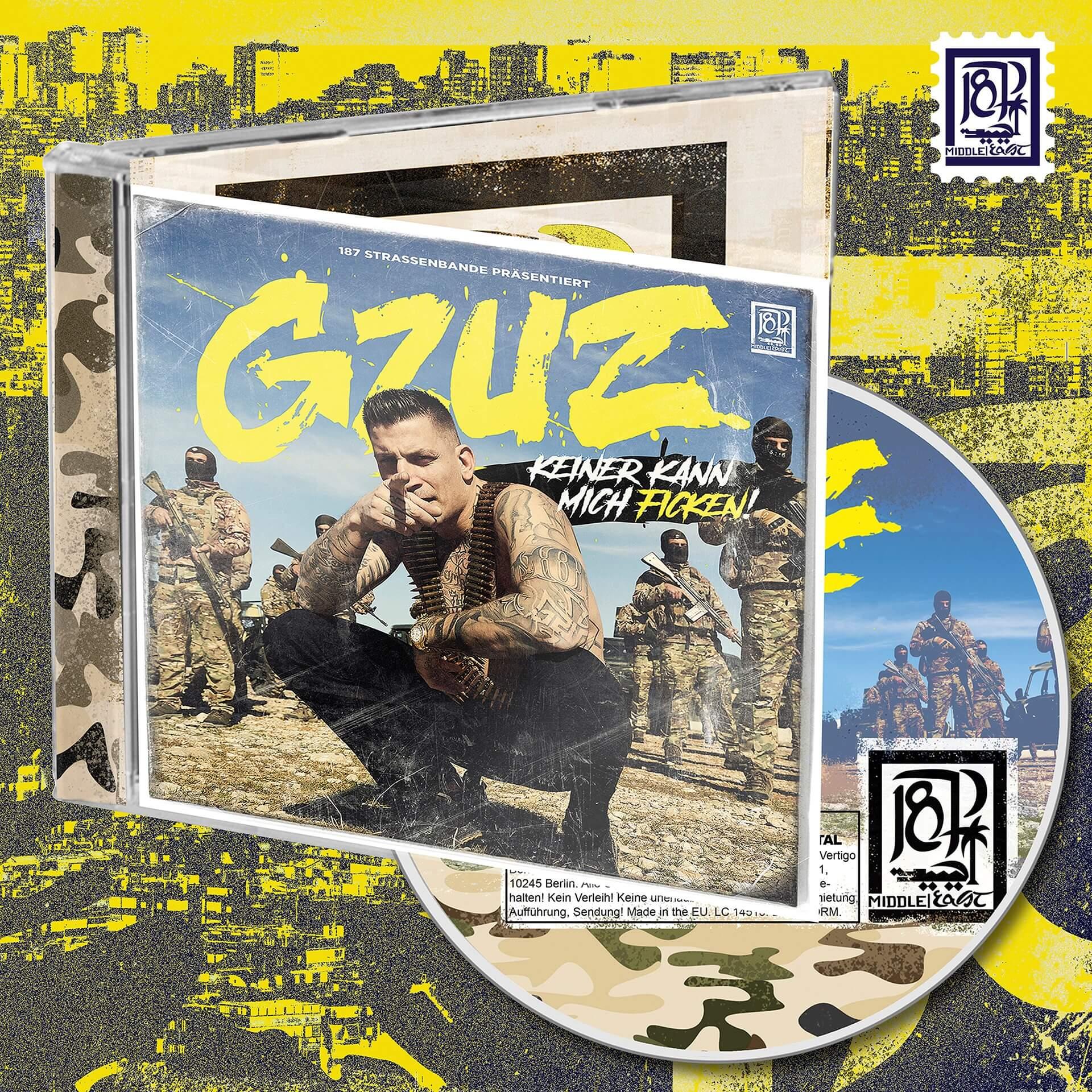 Bravado - Keiner Kann Mich Ficken (CD+ Shirt) - Gzuz