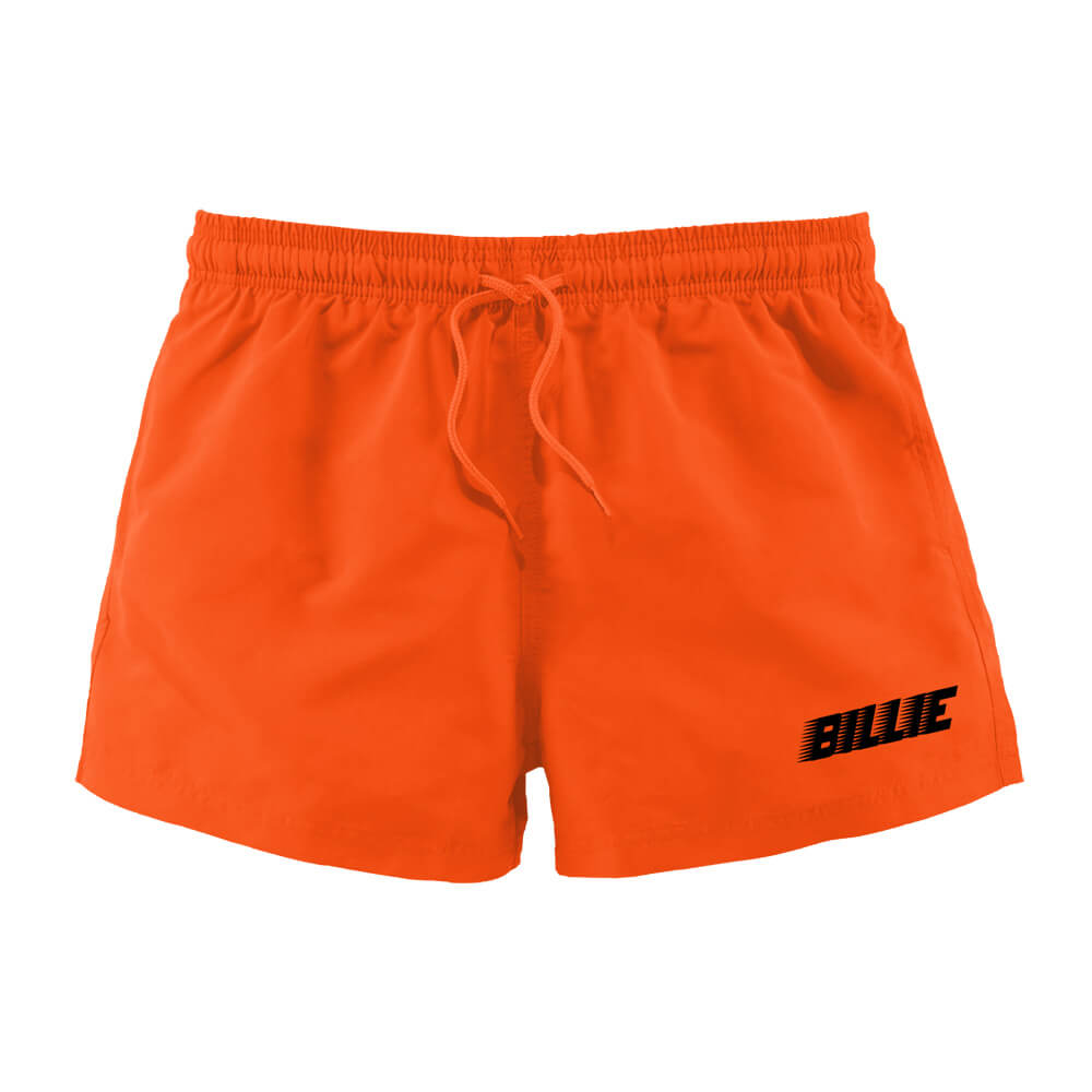 Billie Racer Logo Billie Eilish Shorts Bravado