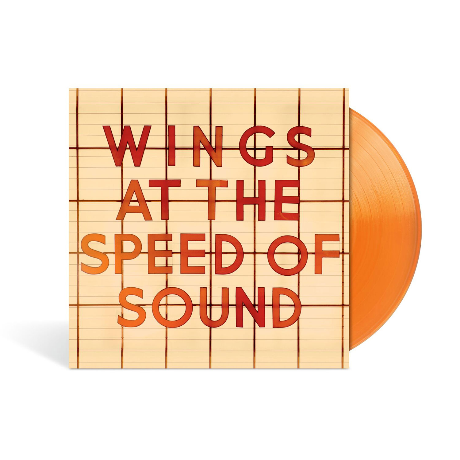 At The Speed Of Sound (Ltd./Excl. Orange Vinyl) von Wings - LP jetzt im Bravado Shop