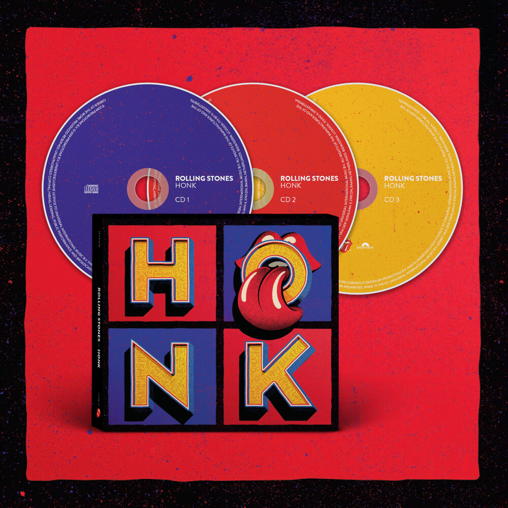 Bravado Honk 3cd The Rolling Stones Cd