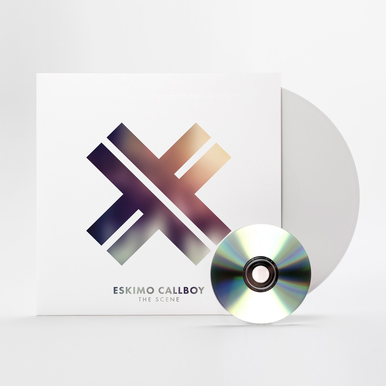 The Scene (White Vinyl + CD Limited) von Eskimo Callboy - Vinyl + CD jetzt im Bravado Shop