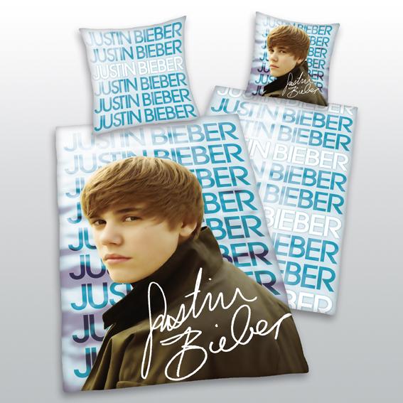 Bravado Side Glance Justin Bieber Bettwäsche Merch