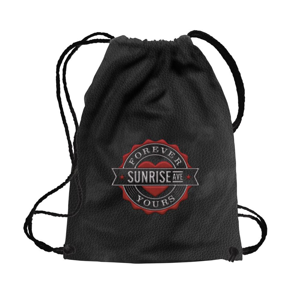 Forever Yours Emblem von Sunrise Avenue - Turnbeutel/Rucksack jetzt im Bravado Shop