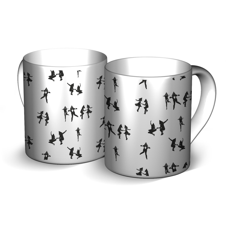 Tetraeder Swingers von Deichkind - Tasse jetzt im Bravado Shop