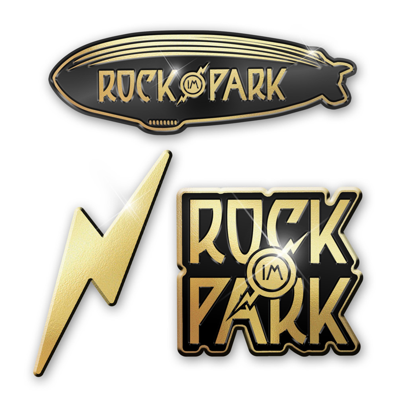 Various Logos von Rock im Park Festival - 3er Pin Set jetzt im Bravado Shop