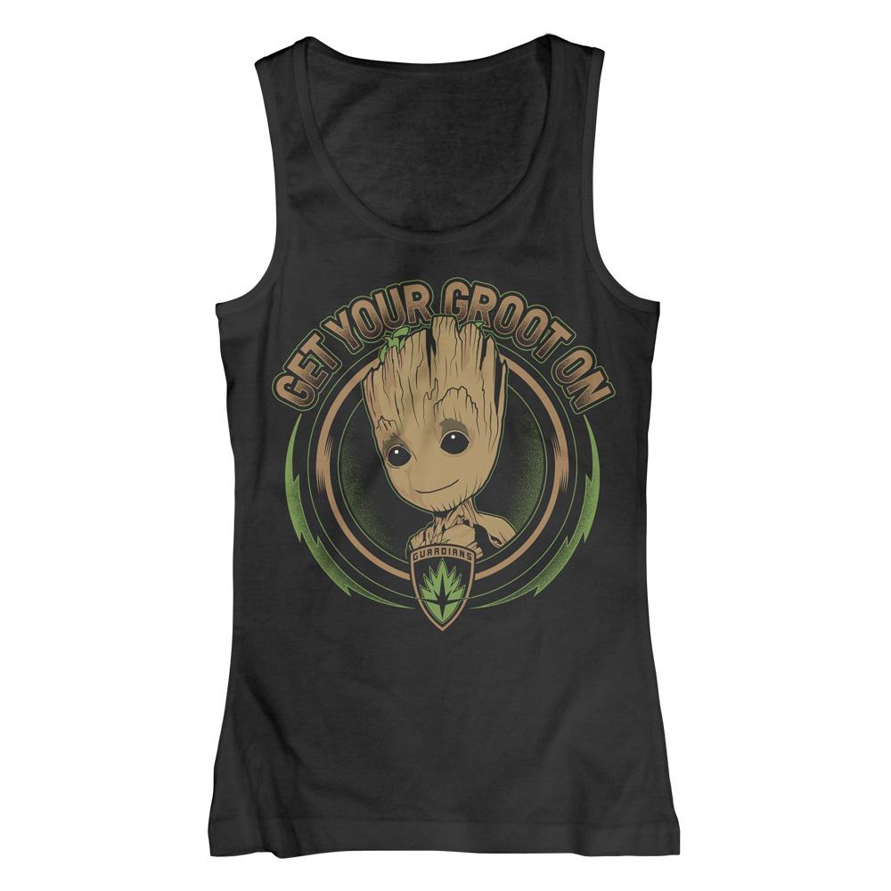 Get Your Groot On von Guardians of the Galaxy - Girlie Top jetzt im Bravado Shop