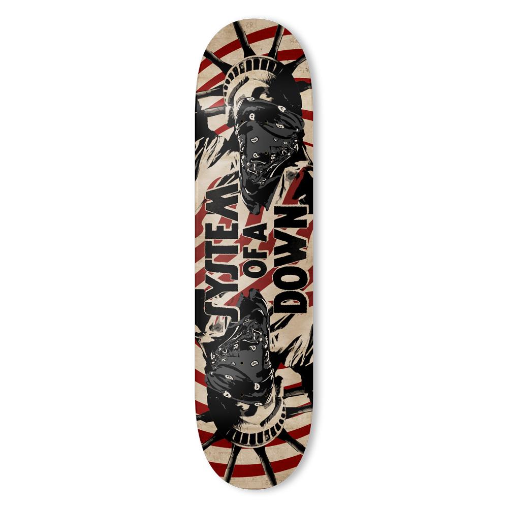 Liberty Bandit von System of a Down - Skateboard Deck jetzt im Bravado Shop