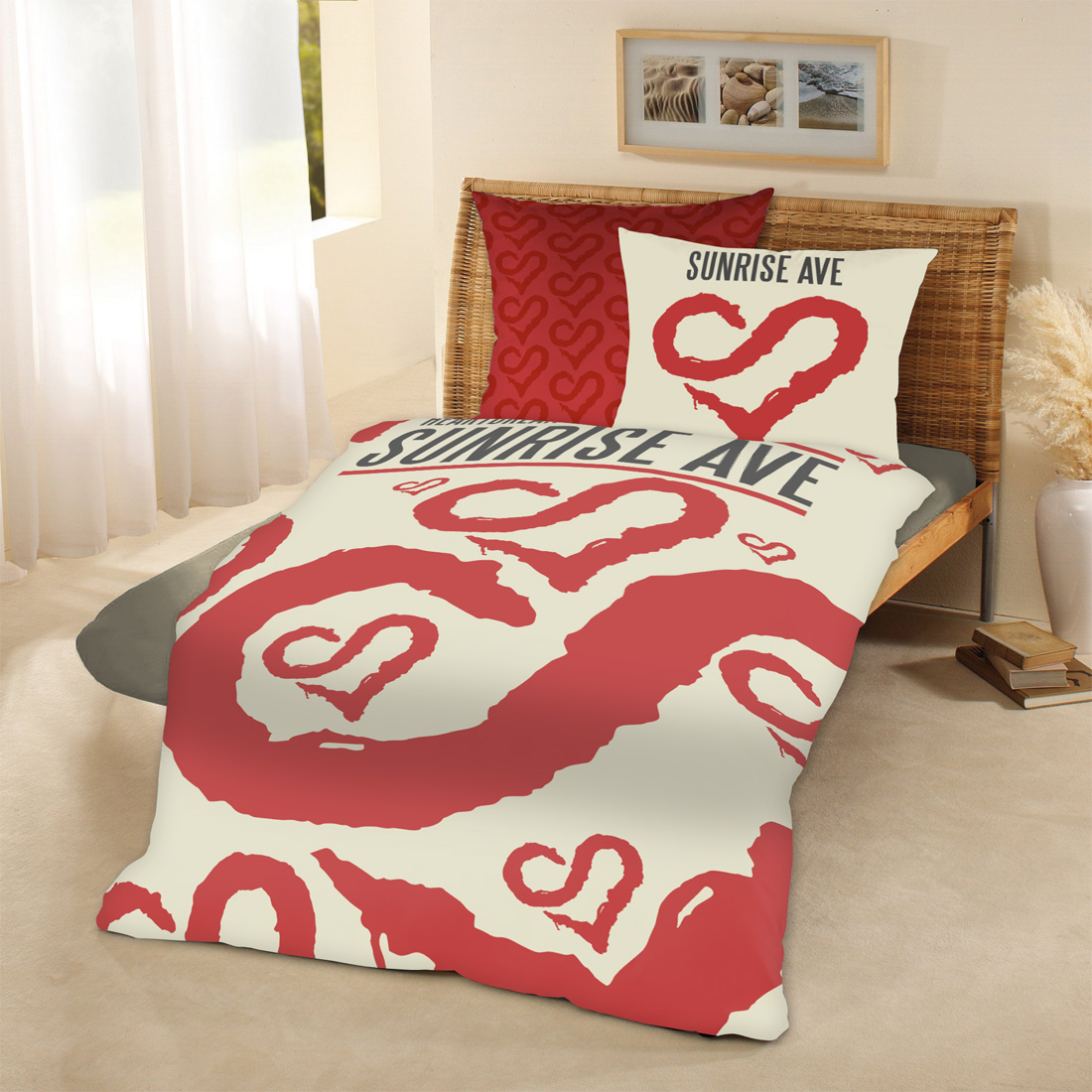 Bravado Heartbreak Century Sunrise Avenue Bed Linen