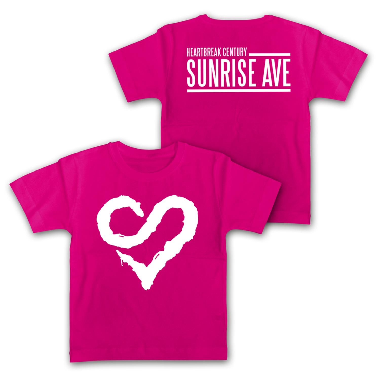 Logo Heart von Sunrise Avenue - Kids Shirt jetzt im Bravado Shop