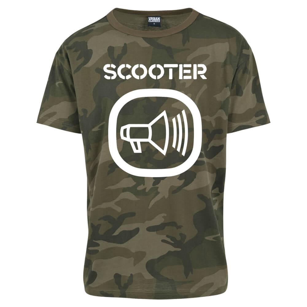 Scooter T-shirts Camo Logo T-shirt