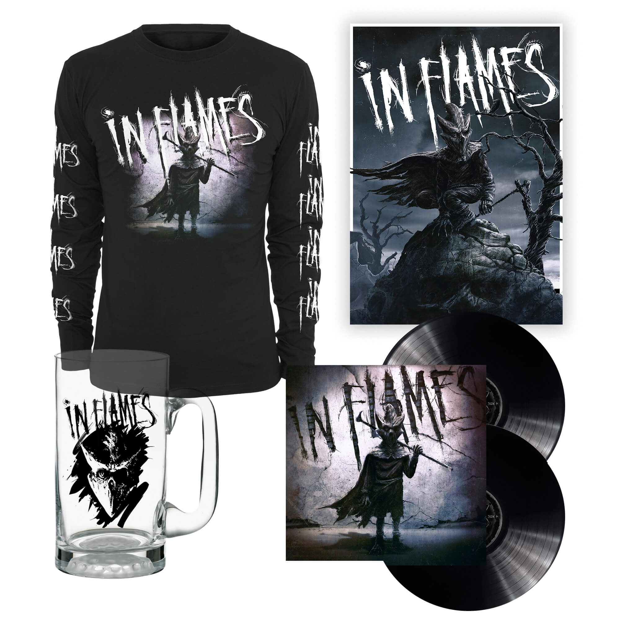 Bravado - I am the Mask - Bundle - In Flames - Vinyl