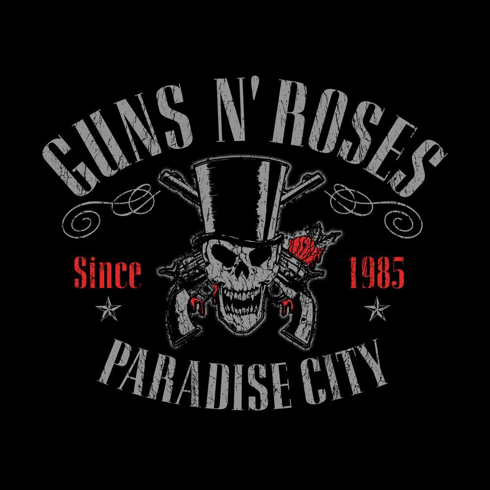 Bravado Vintage Skull Guns N' Roses Kapuzenjacke Merch