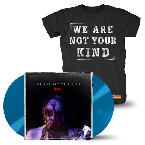 √We Are Not Your Kind (Ltd. Coloured LP + T-Shirt Bundle) von Slipknot - LP Bundle jetzt im Bravado Shop