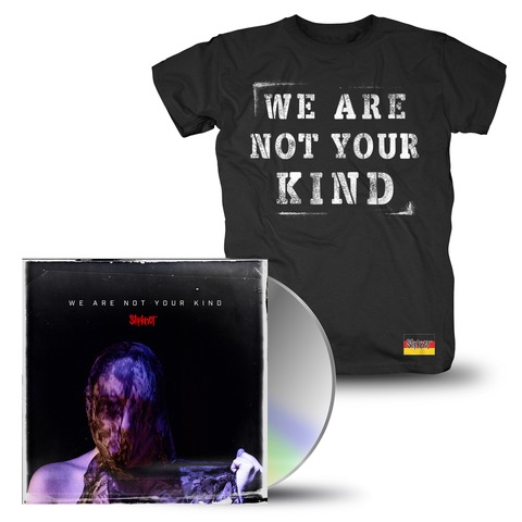 √We Are Not Your Kind (CD + T-Shirt Bundle) von Slipknot - CD Bundle jetzt im Bravado Shop