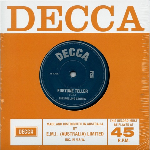 √Fortune Teller / Sad Day (Ltd. 7'' Single) von The Rolling Stones - Vinyl jetzt im Bravado Shop