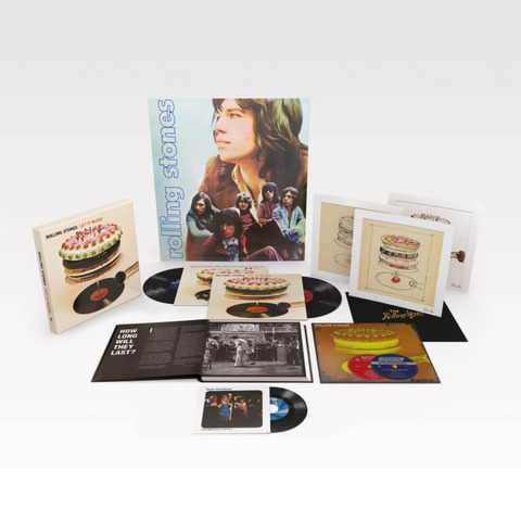 √Let It Bleed - 50th Anniversary Edition (Ltd. Deluxe Box) von The Rolling Stones - Box set jetzt im Bravado Shop