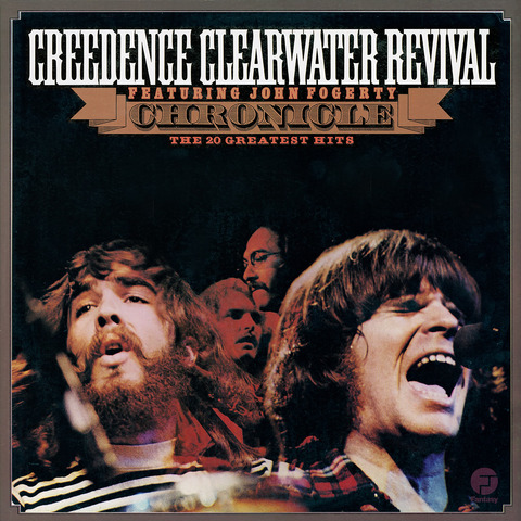 Chronicle: The 20 Greatest Hits (Black 2LP) von Creedence Clearwater Revival - 2LP jetzt im Bravado Shop