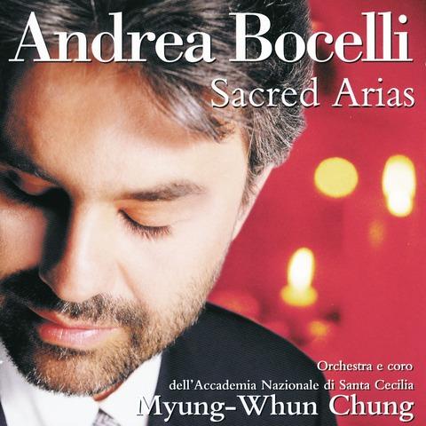 Sacred Arias von Andrea Bocelli - CD jetzt im Bravado Shop