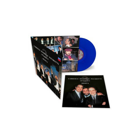 √The Original Three Tenors (Limited Blue Vinyl Edition) von Pavarotti, Luciano; Domingo, Plácido; Carreras; José, Mehta, Zubin - LP jetzt im Bravado Shop
