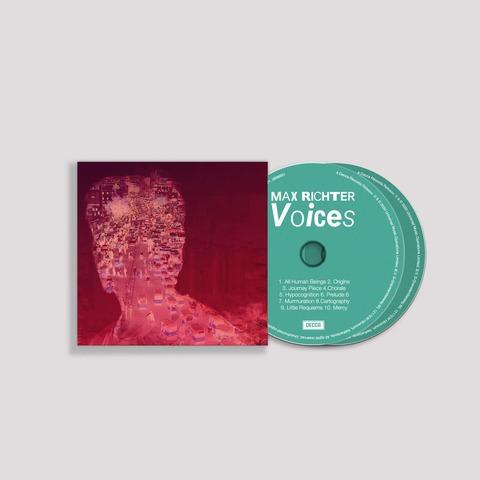 √Voices (Ltd. Signed Edition) von Max Richter - 2CD jetzt im Bravado Shop