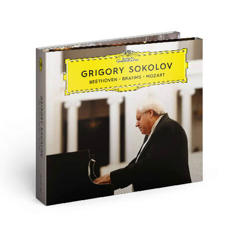 √Beethoven, Brahms, Mozart von Grigory Sokolov -  jetzt im Bravado Shop