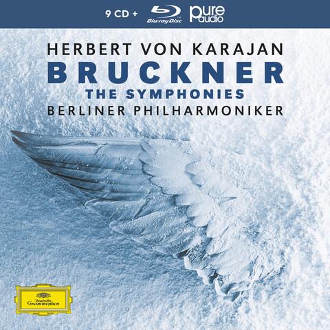 √Bruckner: Die Sinfonien (9CD+1 BluRay Audio) von Herbert von Karajan & Die Berliner Philharmoniker - Box set jetzt im Bravado Shop