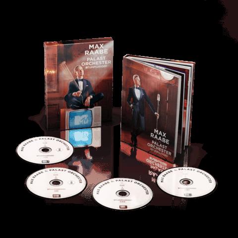 √MTV Unplugged (Ltd. Deluxe Edition inkl. 2CD, DVD, BluRay) von Max Raabe & Palast Orchester - CD jetzt im Bravado Shop