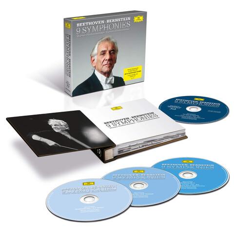 √Beethoven: Die Sinfonien (5CDs + 1 BluRay Audio) von Leonard Bernstein & Wiener Philharmoniker - CD Box jetzt im Bravado Shop