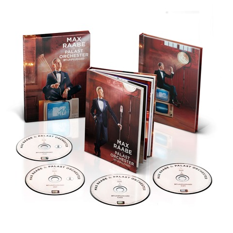 √MTV Unplugged (Ltd. Bundle: Deluxe Version + Notizbuch) von Max Raabe & Palast Orchester - Musik Bundle jetzt im Bravado Shop