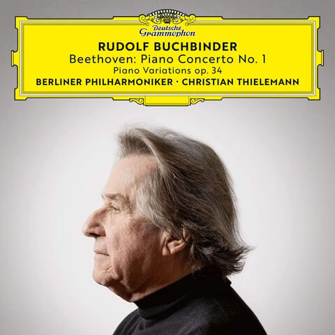 √Beethoven: Piano Concerto No. 1, Op. 15 6 Piano Variations in F Major, Op. 34 von Rudolf Buchbinder - CD jetzt im Bravado Shop