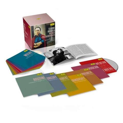 √The Complete Deutsche Grammophon Recordings (Ltd. 58 CD Box) von Claudio Abbado & Wiener Philharmoniker - Box set jetzt im Bravado Shop