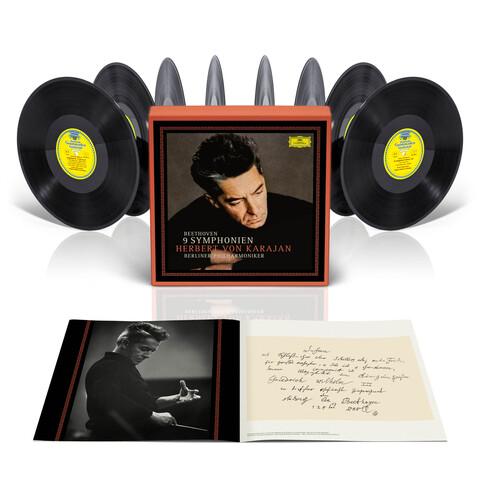 √Beethoven: Die Symphonien (LP Set) von Herbert von Karajan & Die Berliner Philharmoniker - LP Box jetzt im Bravado Shop