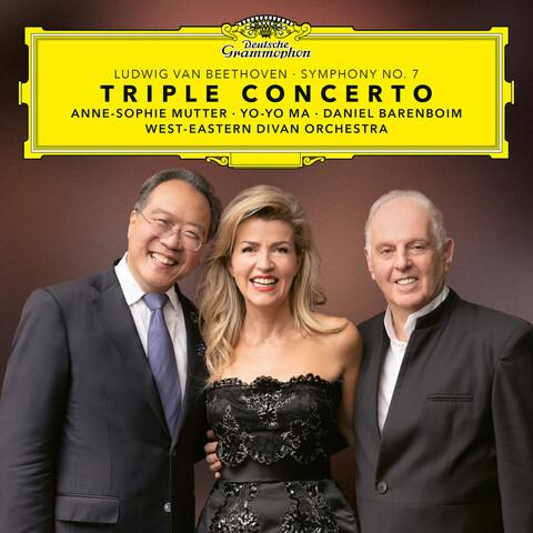 √Beethoven: Triple Concerto & Symphony No. 7 von Anne-Sophie Mutter, Yo-Yo Ma, Daniel Barenboim - CD jetzt im Bravado Shop