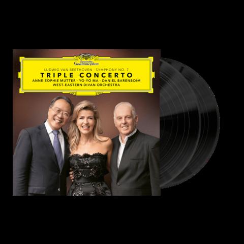 √Beethoven: Triple Concerto & Symphony No. 7 von Anne-Sophie Mutter, Yo-Yo Ma, Daniel Barenboim - 2LP jetzt im Bravado Shop