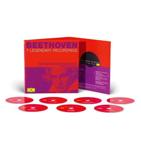 √Beethoven: 7 Legendary Recordings (Ltd. Edition) von Karajan, Kleiber, Kempff, Mutter - CD jetzt im Bravado Shop