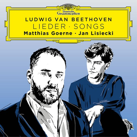 √Beethoven Songs von Matthias Goerne & Jan Lisiecki - CD jetzt im Bravado Shop