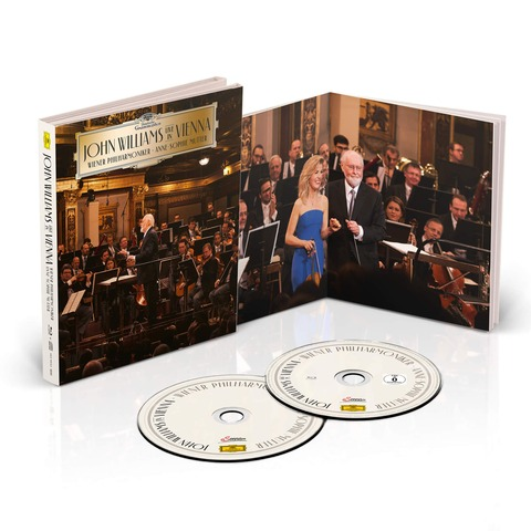 √John Williams - Live in Vienna (Ltd. Deluxe Edition CD + BluRay) von John Williams/Wiener Philharmoniker/Anne-Sophie Mutter - CD jetzt im Bravado Shop