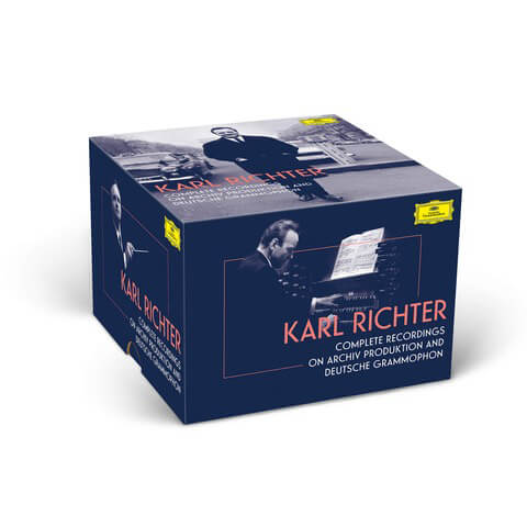 √Complete Recordings On Archiv & DG (97 CDs & 3 BluRay Audio) - Ltd. Edition von Karl Richter - Box set jetzt im Bravado Shop