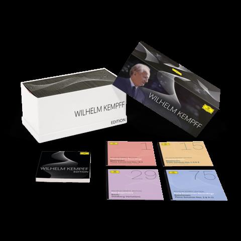 √Wilhelm Kempff Edition (Ltd. 80 CD Box) von Wilhelm Kempff -  jetzt im Bravado Shop