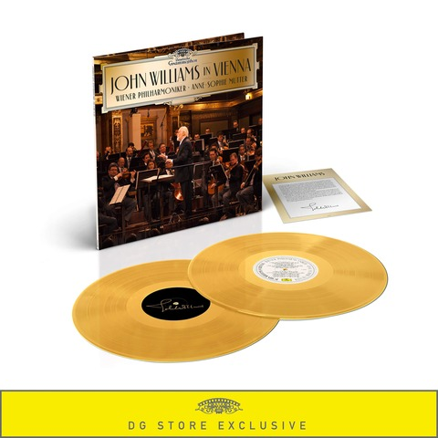 √John Williams in Vienna (Ltd. Golden 2LP) von John Williams/Wiener Philharmoniker/Anne-Sophie Mutter - LP jetzt im Bravado Shop