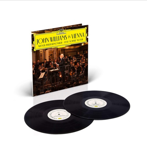 √John Williams In Vienna von John Williams/Wiener Philharmoniker/Anne-Sophie Mutter - 2LP jetzt im Bravado Shop