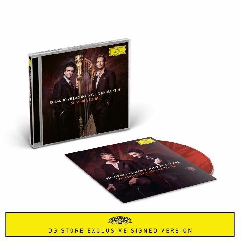 √Serenata Latina (CD + signed Booklet + Bonus CD) von Rolando Villazón & Xavier de Maistre - CD Bundle jetzt im Bravado Shop