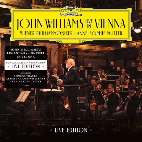 √John Williams In Vienna - Live Edition (2CD) von John Williams/Wiener Philharmoniker/Anne-Sophie Mutter - 2CD jetzt im Bravado Shop
