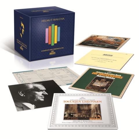 Complete Recordings On Archiv Produktion von Helmut Walcha - Boxset jetzt im Bravado Store