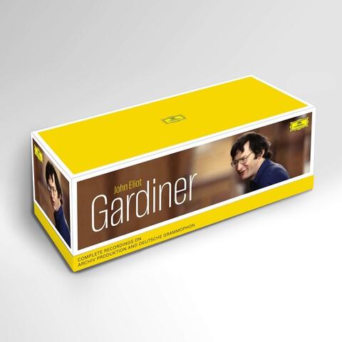 √J.E. Gardiner: Sämtliche Aufnahme Für Archiv & DG (104 CD Box) von John Eliot Gardiner - Box set jetzt im Bravado Shop