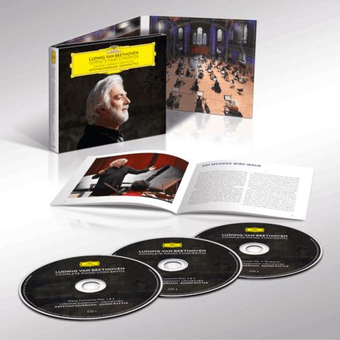 Beethoven: Complete Piano Concertos (3CD Digipack) von Krystian Zimerman - 3CD Digipack jetzt im Bravado Shop