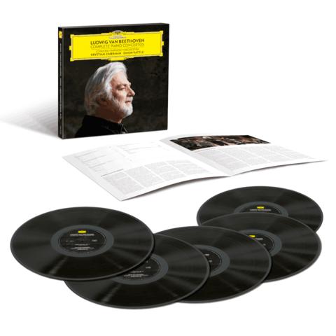 Beethoven: Complete Piano Concertos (5LP Box) von Krystian Zimerman - 5LP Boxset jetzt im Bravado Shop